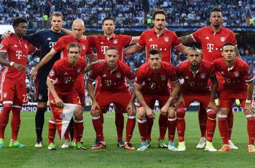 Đội hình Bayern Munich 2016-2017